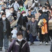 さいたま市の避難所に到着した双葉町の人たち
